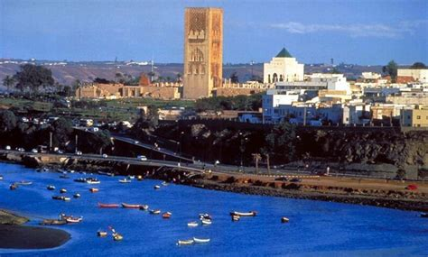 photographs   seafront  rabat capital city  morocco