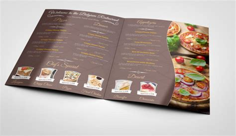 6 Indesign Menu Template Af Templates Indesign Menu Template