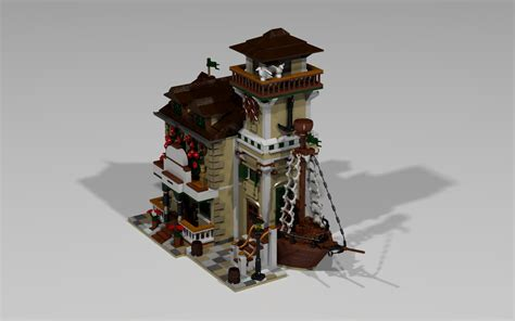 lego boat house lego ideas boat house diner