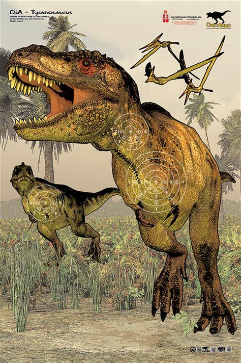 printable dinosaur targets dino ammo targets on behance
