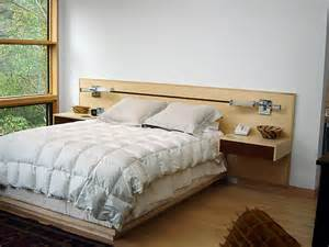 platform bed with inlay headboard architectural woodcraft