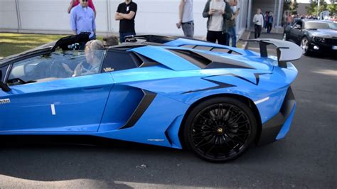 lamborghini aventador sv roadster exhaust world s first lamborghini aventador sv roadster w akrapovic exhaust youtube