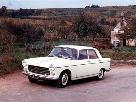 peugeot automobiles avengers in time 1960 cars peugeot 404