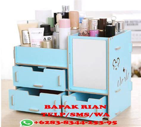 Rak Kosmetik Aluminium harga box make up murah saubhaya makeup