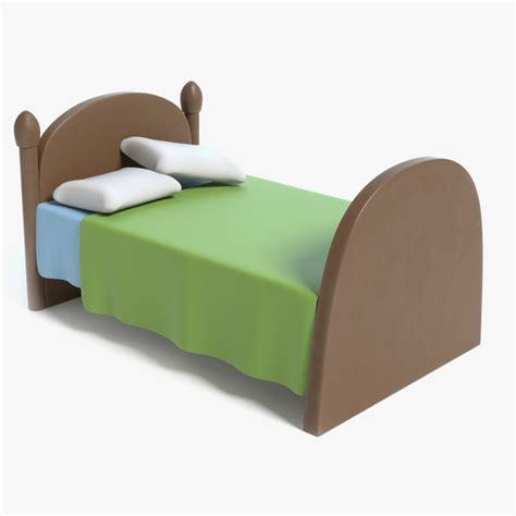 bed 3d 1143780 turbosquid