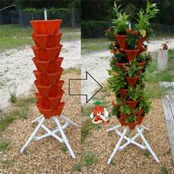 Vertical Garden Containers For Sale - mr stacky vertical gardening tower hydroponics aquaponics soil pots and stand tall tiered