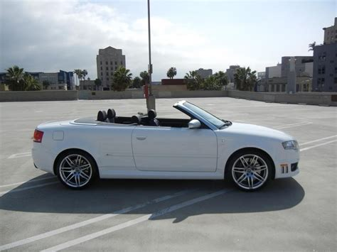 audi convertible 2008 vwvortex com 2008 audi rs4 convertible ibis white black