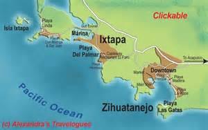 Ixtapa Mexico Map by Map Of Ixtapa City Area Map Of Mexico Regional Political