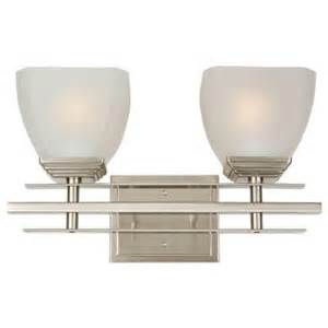 bathroom vanity lights home depot yosemite home decor half dome 2 light satin nickel