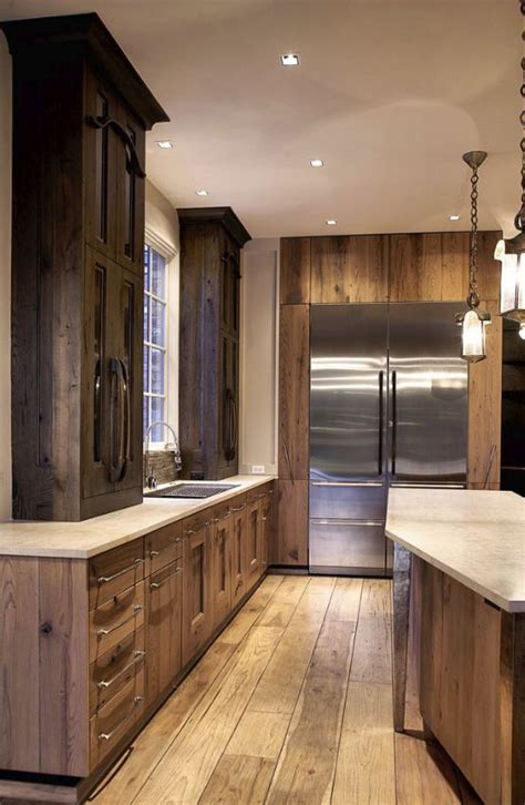 rustic modern kitchen cabinets rustic kitchens design ideas tips inspiration