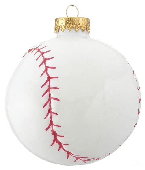 baseball christmas ornament baseball and softball