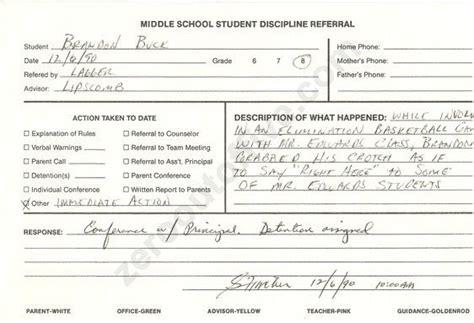 detention slip week crotch grabbing
