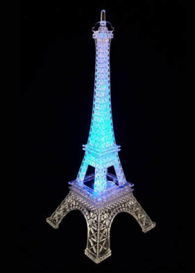 light up eiffel tower eiffel tower centerpiece led and lights on pinterest