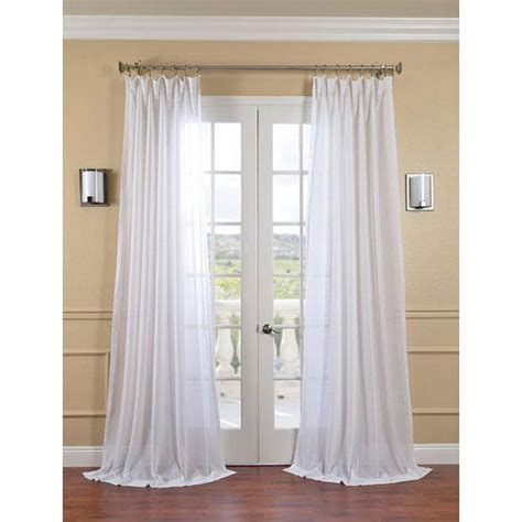 white linen curtains 96 white orchid faux linen sheer single panel curtain panel