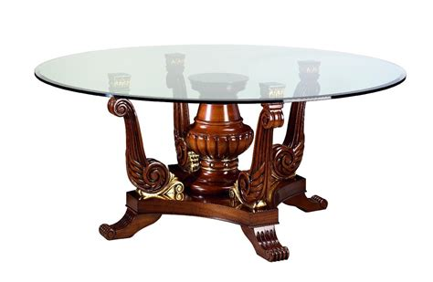 Glass Dining Table Wood Base Best Glass Top Dining Tables With Wood Base House Photos