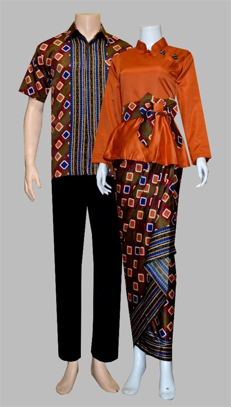 Baju Batik Sarimbit Tiesha Kemeja Rok Batik Blus Kutubaru jual baju batik sarimbit rok blus kebaya sepasang