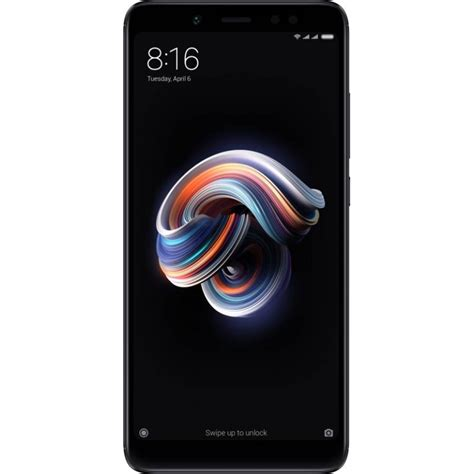 Ram 6 Gb xiaomi redmi note 5 pro black 64 gb 6 gb ram