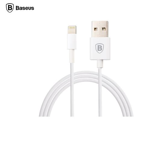 Baseus Fast Charging Lightning Cable 1m Iphone 666s6s White Baseus Fast Charging Lightning Cable 1m For Iphone 6 7 8 X