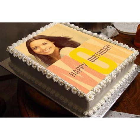 Sauvenir Cake Flanel 1 personalized birthday photo cake for