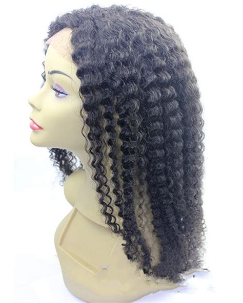 2016 new 42cm curly natural hair wigs for women wig short hairstyle handmade good quality hair 2016 new black curly wave lace front human hair wigs for