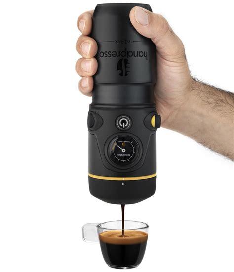 Handpresso Auto: Mobile Espressomaschine mit 12 Volt Anschluss   foerderland