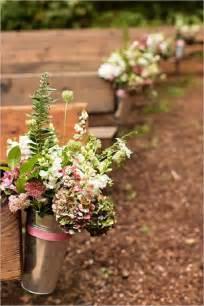 Outdoor Wedding Ceremony Aisle Decorations by 30 Rustic Backyard Outdoor Garden Wedding Ideas Deer