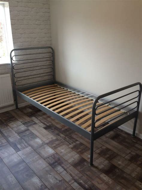 ikea loen single metal bed frame in dodworth south