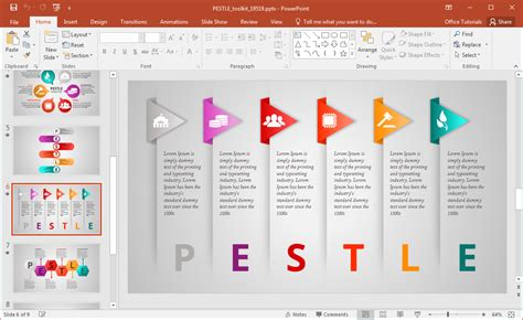 Animated Pestle Analysis Presentation Template For Powerpoint Power Templates Powerpoint