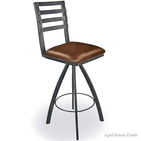 bar stools iron pictured is our chanal 30 quot swivel bar stool no arms hand forged by artisan blacksmiths
