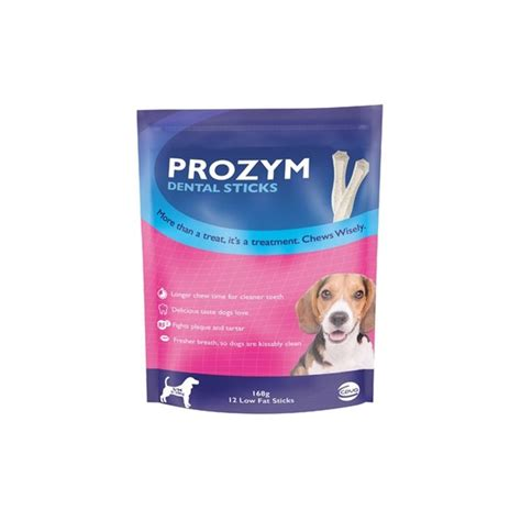 dental sticks for dogs prozym dental sticks for small medium dogs only 16 00 excl gst free fast delivery