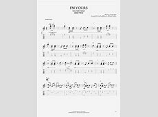 I'm Yours by Jason Mraz - Easy Solo Guitar Guitar Pro Tab ... I M Yours Chords