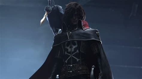 captain harlock space pirate captain harlock finally receives a western