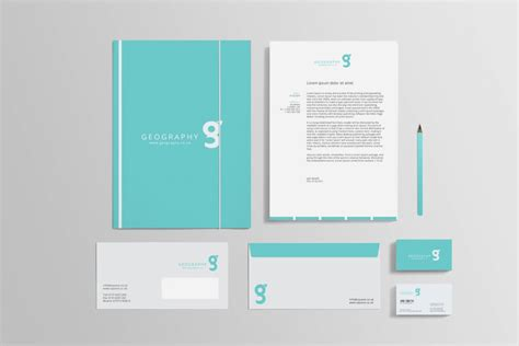 business card and letterhead design templates 80 modern stationery templates design shack