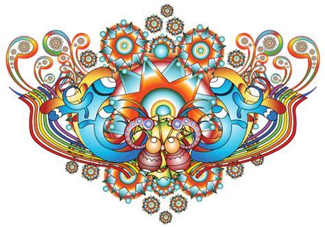 design images psychedelic vector background design download free
