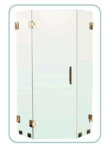 Laurence Shower Doors by Header Free Enclosure Criteria
