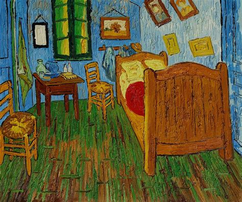 the bedroom van gogh bedroom at arles by vincent van gogh artwork i ve stood