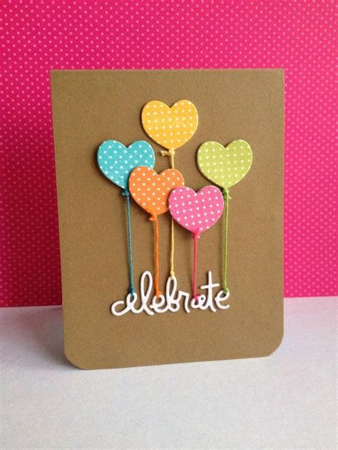Handmade Birthday Cards For Teachers - handmade creative greeting cards for teachers