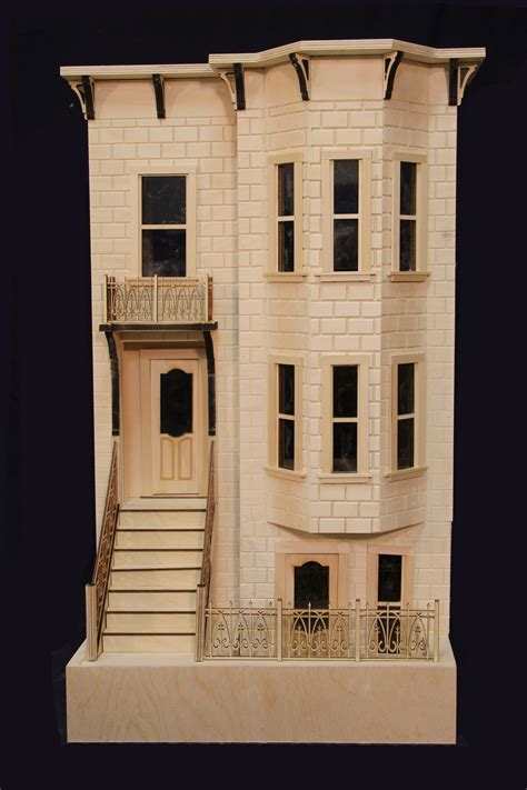park avenue full scale brownstone dollhouse majestic mansion