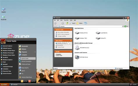 zune theme for windows 10 download microsoft zune desktop theme for windows xp askvg