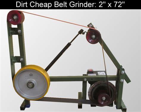 knife makers grinder diy knifemaker s info center dirt cheap 2 x 72 belt
