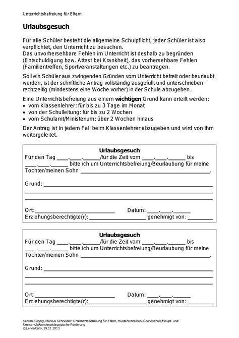 Antrag Unterrichtsbefreiung Vorlage Entschuldigung Antrag Auf Beurlaubung Vom Unterricht Pictures To Pin Entschuldigung Fr Die