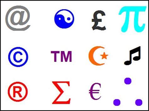 trademark symbol on keyboard