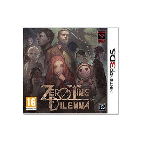 Nintendo 3ds Zero Time Dilemma zero time dilemma 3ds