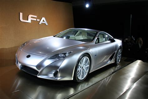 lexus lfa concept lexus lf a photos 4 on better parts ltd