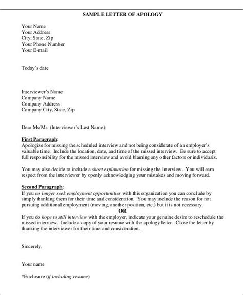business letter of apology definition 32 apology letter exles sle templates