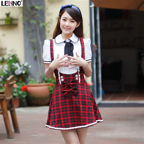 Promotional Various Style High Quality Custom School - aliexpress buy preppy style overalls plaid
