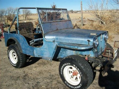Buy Jeep Parts Find Used 1947 Willys Jeep Cj2a Runs Great With Fact Back