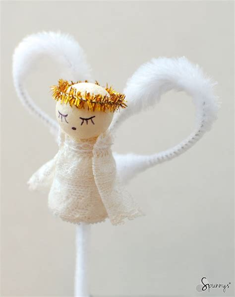 cotton diy christmas vintage style pipe cleaner ornament beautiful and sweet this spun cotton