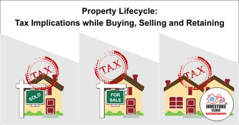 tax implications of buying a house property lifecycle tax implications while buying selling