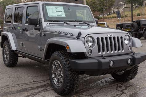 Jeep Stocks 2015 Stock Jeep Wrangler Rubicon Unlimited Billet